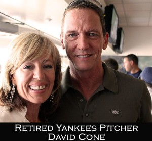 DeDe Murcer Moffett with David Cone