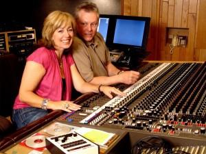 DeDe Murcer Moffett in the recording studio recording I believe