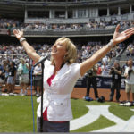 DeDe Murcer Moffett Sings for New York Yankees