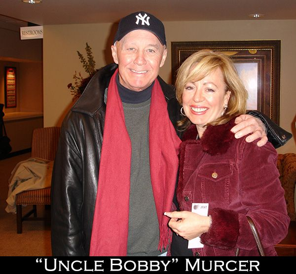 DeDe and Uncle Bobby Murcer