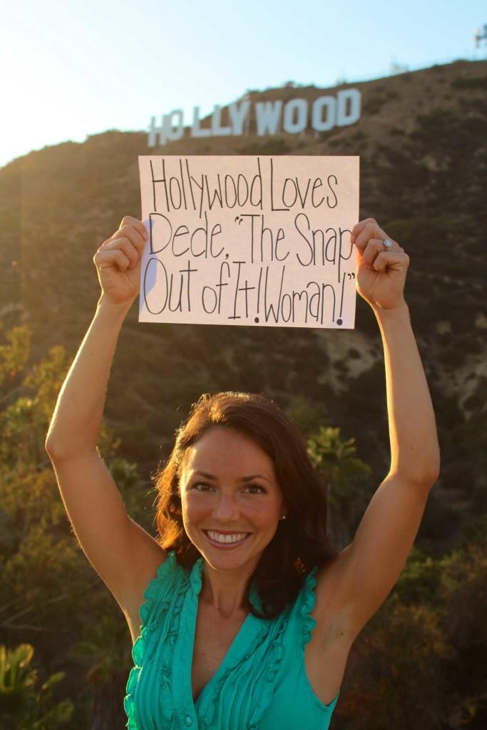DeDe Murcer Moffett SNAP in Hollywood